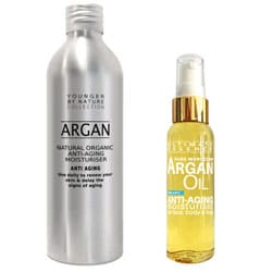 Pure Argan Oil - 200ml Eco Refill Pack  + 1x65ml 40% Off