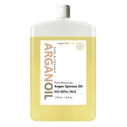 Pure Natural Scented Argan Oil - Eco Refill - 210ml / 7.4 fl oz