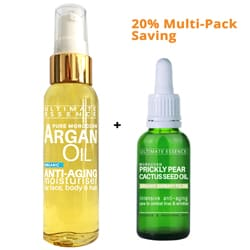 65ml Argan Oil + 10ml Cactus Seed Oil - Save 20% Offer