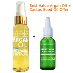 Argan Oil + Cactus Seed Oil - Special Offer