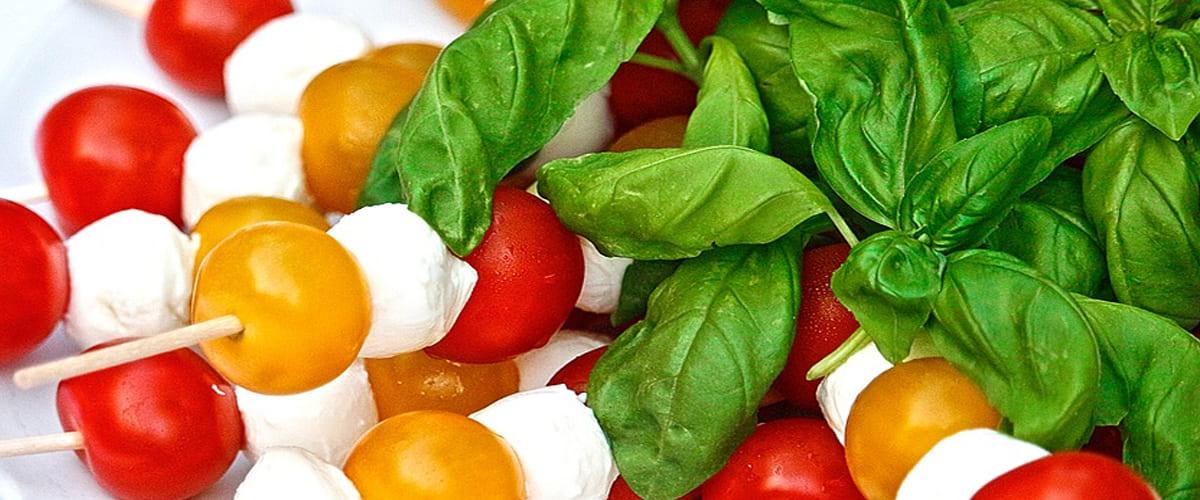 Mozzarella and Tomato Salad With an Argan Oil Dressing Recipe