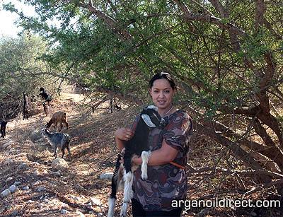 argan oil is natural and vegan cosmetic product