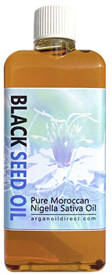 Pure Moroccan Black Seed Oil  Bottle