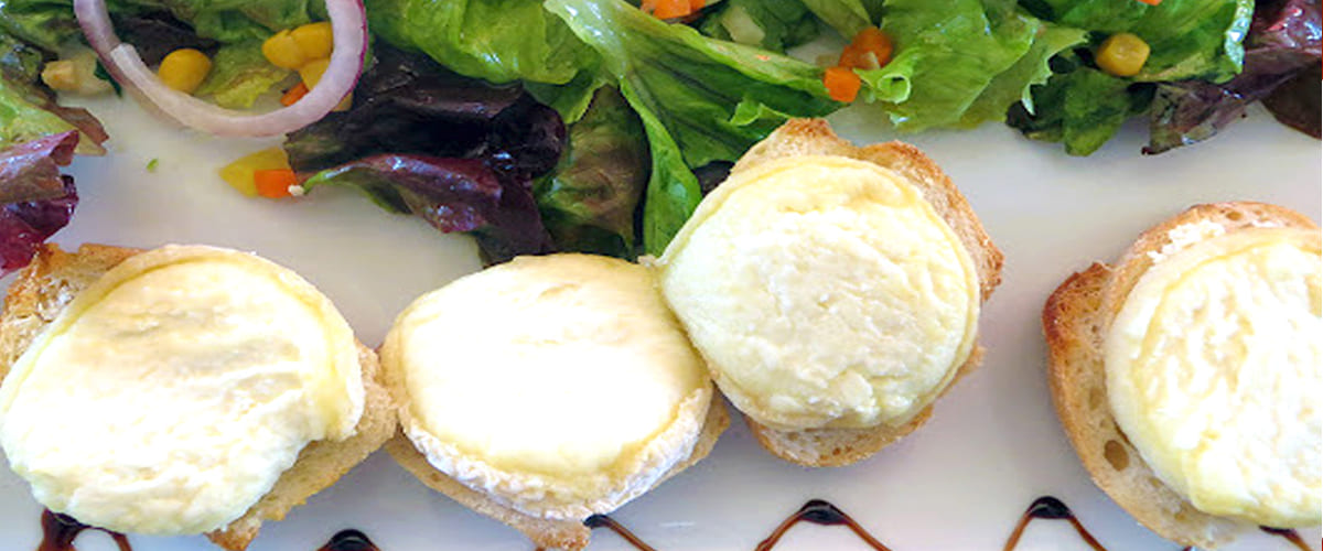 A recipe for culinary argan oil and goats cheese