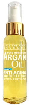 100% Pure Argan Oil Bottle