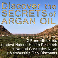 Argan Oil Newsletter Signup