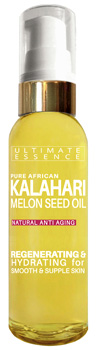 100% Pure Kalahari Melon Seed Oil Bottle