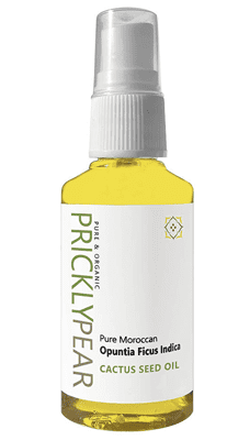 Pure Prickly Pear Cactus Seed Oil Bottle
