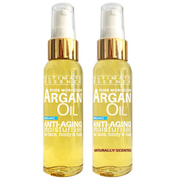 Promotional Offer: Discover Natural Scented & Unscented Pure Argan Oil Bottle